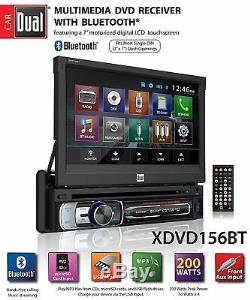 Double Simple Din Voiture Bluetooth Stéréo Récepteur With7 Dégagez Écran Tactile + Camera