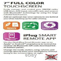 Dual Xvm279bt Double Din Digital Media Receiver Car Stereo Radio Avec Usb Sd Mp3