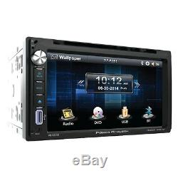 Ecran Tactile Bluetooth DVD CD Voiture Radio Stereo Usb 05-16 Ford F 150/250/350