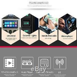 Écran Tactile Car Stereo Radio Double 2din Pour Le Lecteur Usb Wifi Gps Avec Caméra Parc