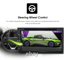 Écran Tactile Hizpo Double 2din 7 Voiture Stereo Radio DVD Player Bt Usb Camera