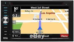 Écran Tactile Stéréo 6.2 De Voiture De Navigation De Boss Bv960nv Double Din Bluetooth DVD Gps