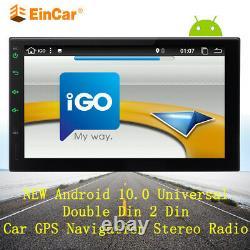 Eincar 7 Smart Android 10.0 4g Wifi Double 2din Car Radio Stereo Gps Bluetooth