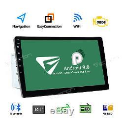 Eonon 10.1 Smart Android 9.0 Wifi 4g Double 2din Voiture Radio Stéréo Bluetooth Gps