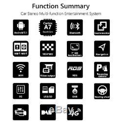 Eonon 7 Double 2 Din Din Voiture Stéréo Android Radio À Écran Tactile Unité Principale Gps