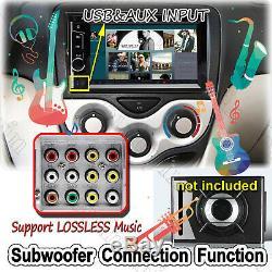 Fit 2004-16 Ford F & E Series Bluetooth Écran Tactile DVD CD Usb Autoradio Radio