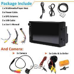 Fit Jeep Patriot Wrangler 7 2din Car Stereo Radio Usb Wifi Miroir Link Pour Gps