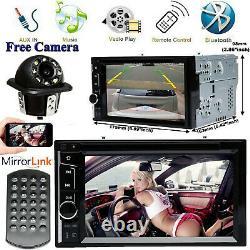 Fit Toyota Fj Cruiser Yaris Matrix Car Bluetooth Stereo 2din CD DVD Radio+camera