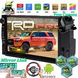 Fm Gps Android Car Stereo Radio Pour Toyota 4runner Camry Corolla Highlander Rav4