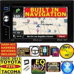 For/fits 05-11 Toyota Tacoma Gps Nav Bluetooth Usb Cd/dvd/aux Radio Stereo Pkg