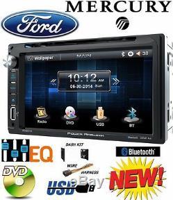 Ford Mercury Mazda Touchscreen Kit De Tableau De Bord Double Bluetooth Bluetooth Avec Lecteur DVD