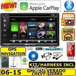 Gm 2006-2015 Système De Navigation Gps Bluetooth CD DVD Usb Car Radio Stereo Emb