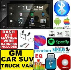 Gm Car-truck-van-suv Kenwood CD CD DVD Bluetooth Voiture Sereo Stereo Double Din