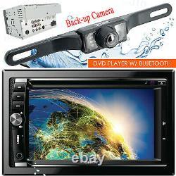 Gravity Vgr-d900b Car Stereo 2 Din Touch DVD Player Am/fm Avec Bluetooth + Caméra