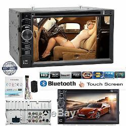 Hd Double 2 Din 6.2 Autoradio CD Lecteur DVD Radio Am Fm Bluetooth Tv Pour Ford