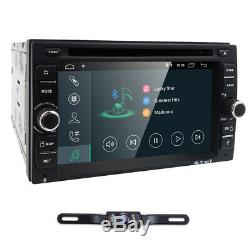 Hizpo 6.2''android 8.1 Wifi 4g Double 2din Voiture Radio Stéréo DVD Navi Gps Lecteur