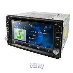 Hizpo Gps Navi Hd Double 2din Voiture Dash Stéréo Lecteur DVD Bt 4.0 Ipod Mp3 Tv + Cam