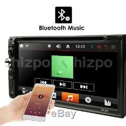Hizpo Lentille Double Lecteur DVD Lecteur DVD Ipod Bluetooth Tv Mp3