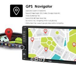 Hizpo Octa-core Android 9.0 4 Go + 64 Go 7 Double 2din Car Stereo Radio Gps Dab + Tv