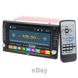 Indash Double 2din Stéréo De Voiture CD DVD Gps Lecteur Bluetooth Radio Bluetooth + Caméra