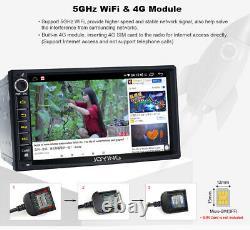 Joying Octa Core 1.8ghz 7 Pouces Android 10 Double Din Voiture Stéréo 4g Lte Wifi Fm