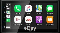 Jvc Kw-m56bt 6.8 Digital Multimedia Stereo D'apple Car Play & Android Auto Nouveau