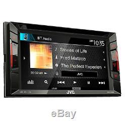 Jvc Kw-v140bt Double Din Bluetooth Dans La Voiture Dash DVD / CD / Am / Fm Stéréo