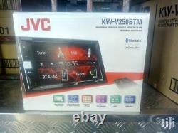 Jvc Kw-v250btm 6.2 DVD CD Bluetooth Usb 13 Band Eq 200w Amplificateur Stéréo Nouveau