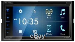 Jvc Kw-v340bt 6.2 Bluetooth Double Din DVD / CD / Usb Voiture Récepteur Am / Fm / Android
