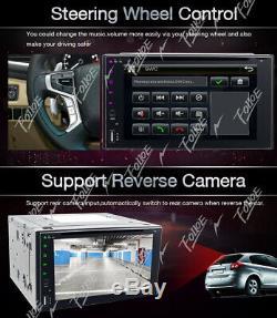 Kenwood 6.2double 2din Car Indash Radio Stéréo Lecteur DVD Mp3 CD Aux In Usb Sd