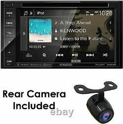Kenwood Ddx26bt 6.2 Double Din Autoradio DVD Bluetooth W \ Backup Cam