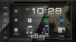 Kenwood Ddx26bt 6.2 Double Din Touchscreen Stéréo De Voiture DVD Stéréo Bluetooth