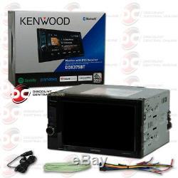 Kenwood Ddx375bt Voiture Double Din 6.2 Écran Tactile Usb DVD CD Bluetooth Stéréo