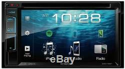 Kenwood Ddx418bt Double Din 6.2 Bluetooth Écran Tactile Usb DVD CD Car Stereo