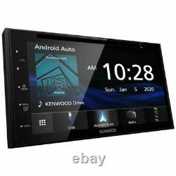 Kenwood Ddx57s 6.8 CD DVD Usb Bluetooth Apple Car Play Android Auto Stereo Nouveau