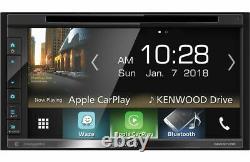 Kenwood Ddx6705s Double Din Bluetooth Au Tableau De Bord Numérique Car Audio Stéréo Récepteur
