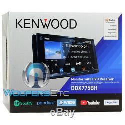 Kenwood Ddx775bh 6.95 CD DVD Bluetooth Usb Waze Youtube Sirius Radio Stéréo