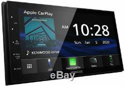 Kenwood Dmx4707s 6.8 Multimédia Numérique Stéréo D'apple Car Play & Android Auto