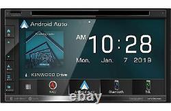 Kenwood Dnx576s 6.8 Wvga Double Récepteur Stéréo Din Avec Apple Car, Android Auto