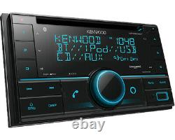 Kenwood Dpx504bt Double Din Voiture Radio Stereo Récepteur CD Sirius XM