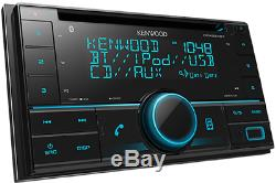 Kenwood Dpx524bt Double Din Voiture Usb Récepteur CD Stéréo Bluetooth Pandora Contrôle