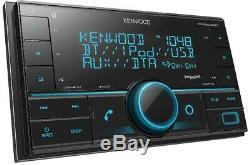 Kenwood Pour Toyota & Scion Bluetooth Usb Auto Radio Stereo Pkg Avec Opt. Siriusxm