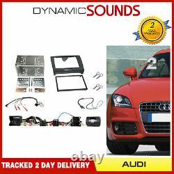 Kit De Fixation Audi Tt Mk2 Double Din Car Stereo Bose Interface De Direction Et Fascia