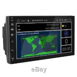 Lecteur Autoradio Android 8.1 7double 2 Din Wifi Bt Navi Avec Caméra De Recul