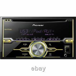 Lecteur CD Double-din Avec Deux Paires Pioneer Mixtrax 6,5 + 6x9 Haut-parleurs De Voiture