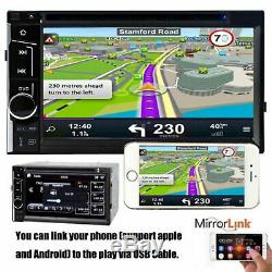 Lecteur DVD Radio Stéréo + Caméra De Recul Pour Toyota Hilux Rav4 Corolla Camry Tundra