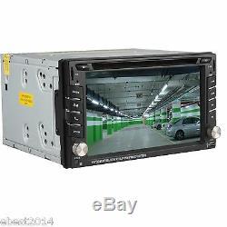 Lecteur De DVD Stéréo Pour Voiture Double Navigation Gps Hd Hd Bluetooth