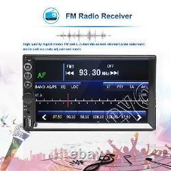 Liaison Miroir Pour Gps Double Din Car Stereo Bluetooth Écran Tactile Fm Hd Radio Aux