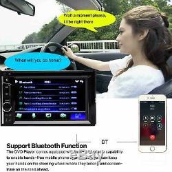 Lien De Miroir Pour Lecteur DVD De Voiture Stéréo CD CD Radio Bluetooth Avec Caméra De Recul