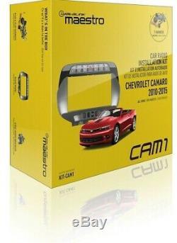 Maestro Kit-cam1 Voiture Double Din Stereo Dash Kit De Câblage 2010-2015 Chevy Camaro
